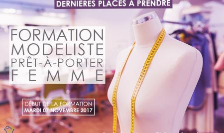 Formation Modéliste   Dernières places