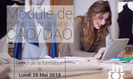 Module de Professionnalisation CAO/DAO | Dernières places