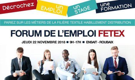 Forum de l'emploi et du stage Textile