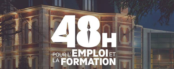 salon 48h emploi formation Informa