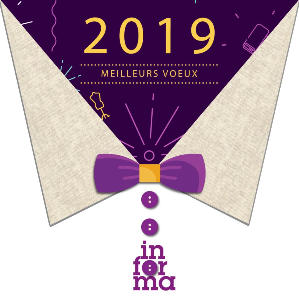 Carte Voeux 2019 Informa
