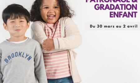 STAGE INTER / PATRONNAGE GRADATION ENFANT